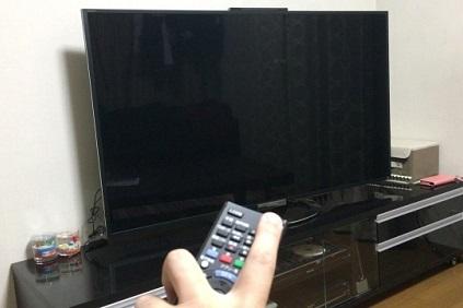 電源が入らないテレビ