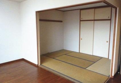 引越し後の和室