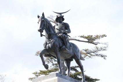 仙台の伊達政宗像