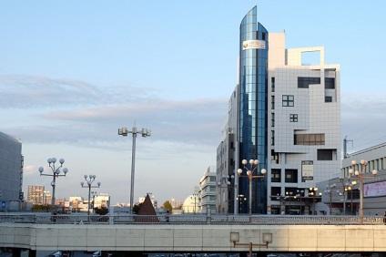 宇都宮駅からの風景