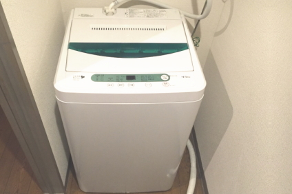 洗濯機の取り付け