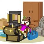 引っ越しのときに出てくる不用品のなかにお宝が隠れているかも知れません