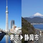 東京~静岡市の引っ越し見積もりの概算金額は?~料金の目安と大まかな費用