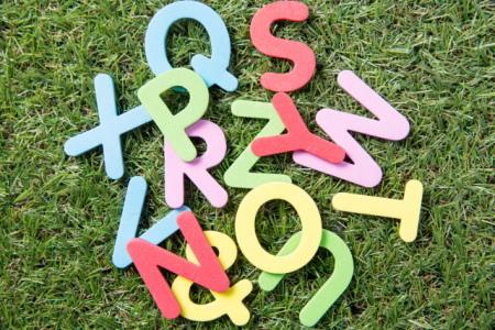 アルファベットのイメージ