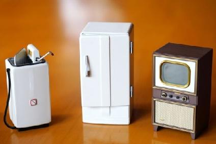 洗濯機と冷蔵庫とテレビ