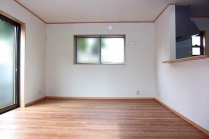 清掃された空き部屋