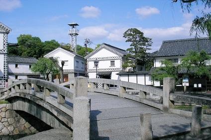 倉敷考古館前の橋