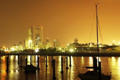 四日市市の夜景