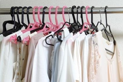 女性の洋服