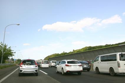 帰省の渋滞