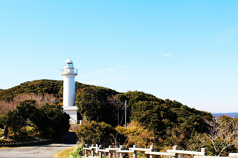 千葉県いすみ市にある太東岬灯台