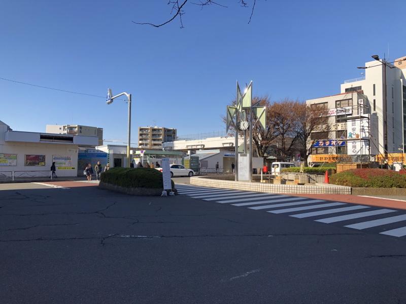 東村山駅前